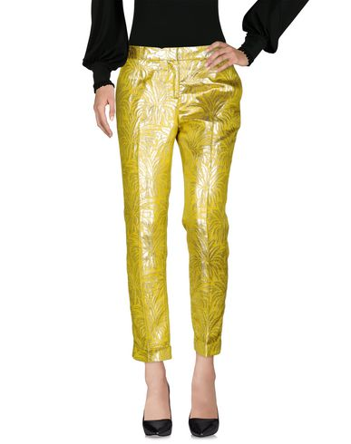 Tory Burch Casual Pants In Yellow