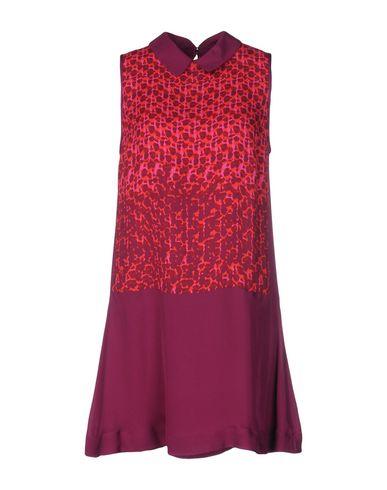 Marc By Marc Jacobs Short Dress In Garnet
