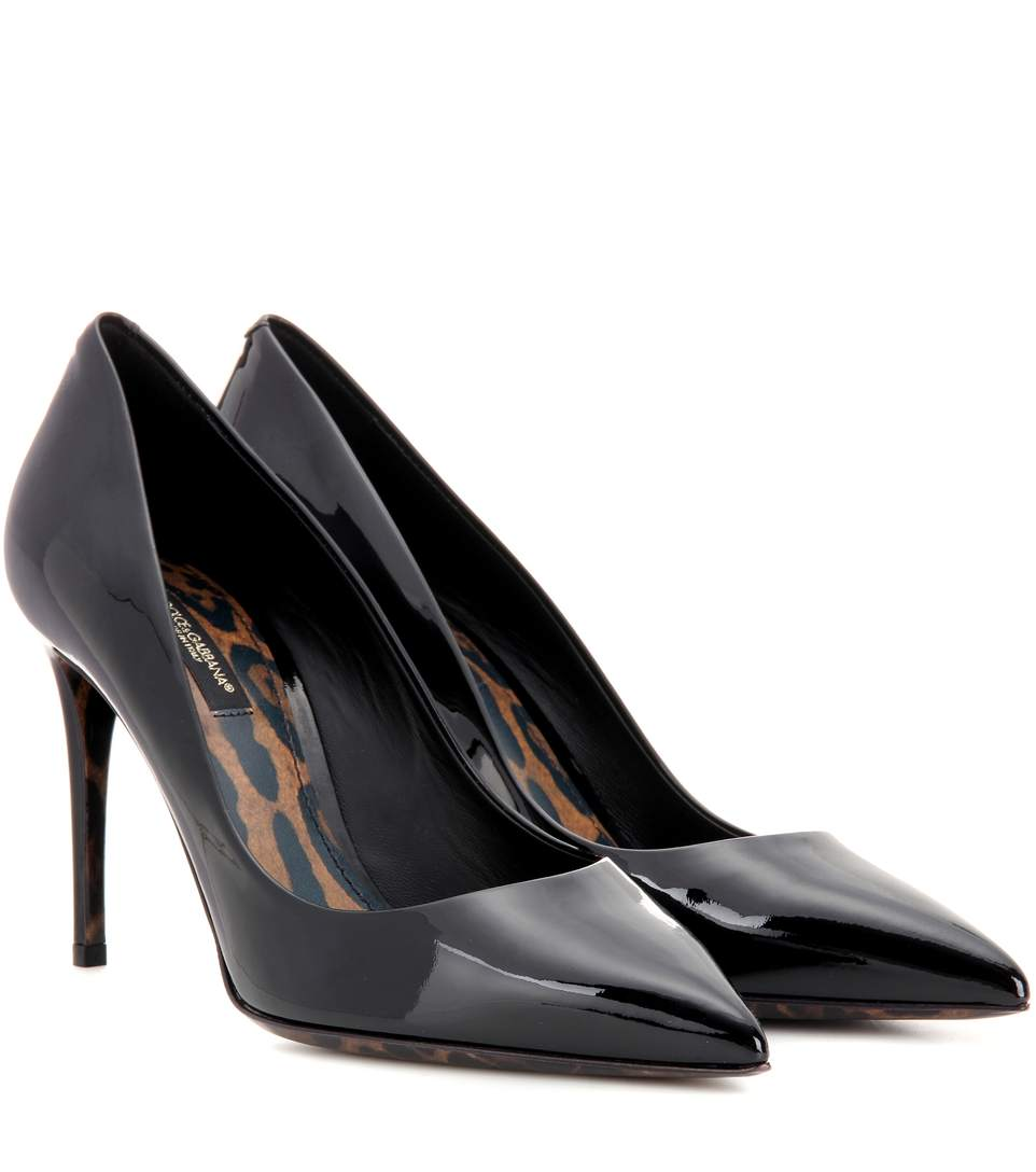 Dolce & Gabbana Kate高跟鞋 In Llack