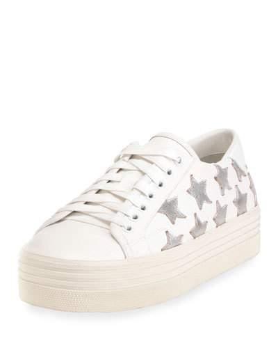 2776359c953 Saint Laurent Signature Court Classic Sl 39 California Platform Sneaker In Off  White Leather And