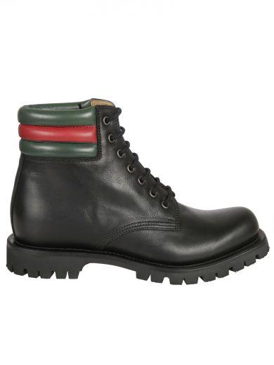 fa4397429e5 Black Lace-up Ankle Boots