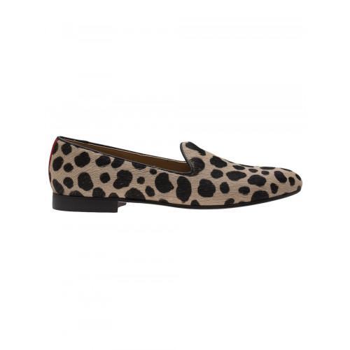Del Toro Cheetah Print Slippers