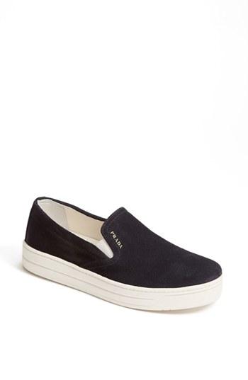 Prada Slip-on Sneaker (women) In Navy