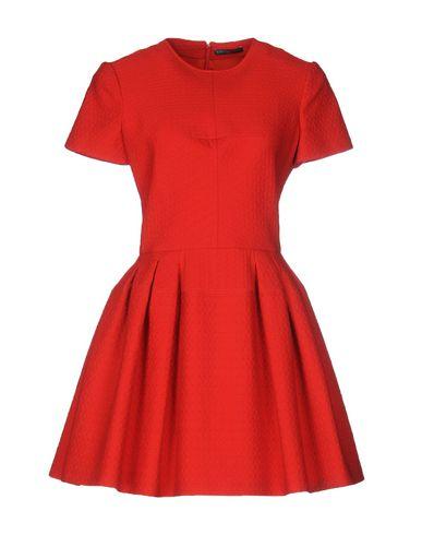 Alexander Mcqueen Short Dress In Red
