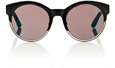 38c631f053d3 Dior Sideral 1 Mirrored Round Sunglasses