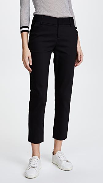 Alice And Olivia Alice+olivia Tailored Slim-fit Trousers - Black