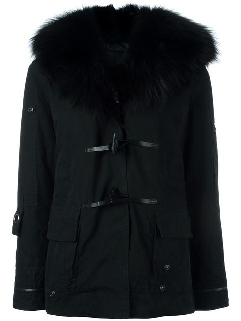 Ermanno Scervino Hooded Duffle Coat