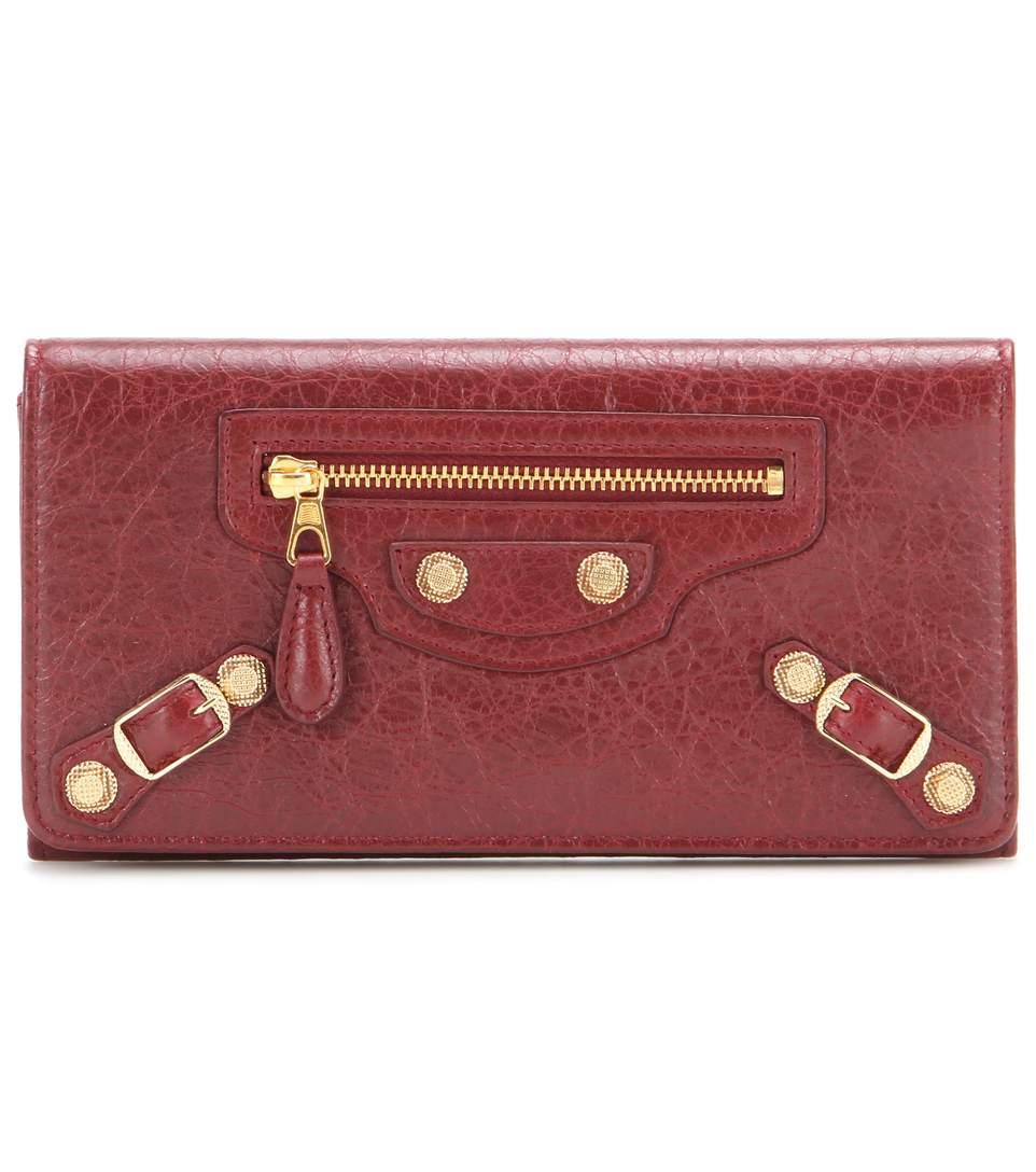 Balenciaga Giant Money Leather Wallet