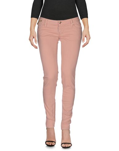 Dsquared2 Denim Pants In Salmon Pink