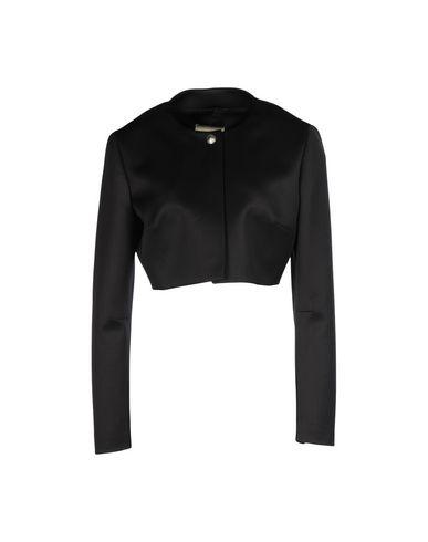 Fausto Puglisi One-Button Cropped Jacket In Black