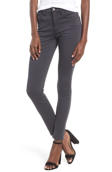 Sophie High Rise Ankle Skinny Jeans In Aura