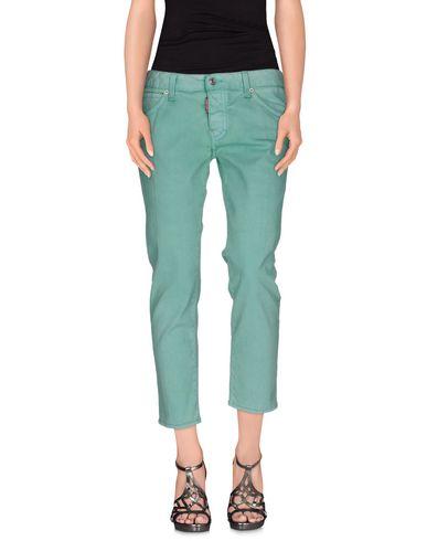 Dsquared2 Denim Pants In Light Green