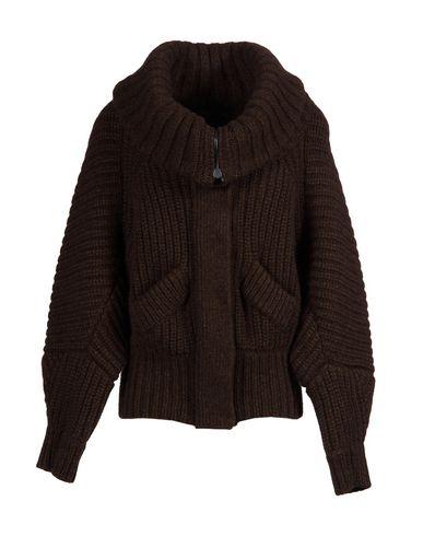 Burberry Cardigan In Dark Brown