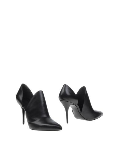 Alexander Wang Leva D'orsay Leather Pumps In Black In Llack
