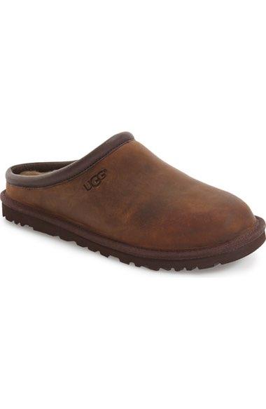 Ugg Men's Classic Clog Slipper, Stout