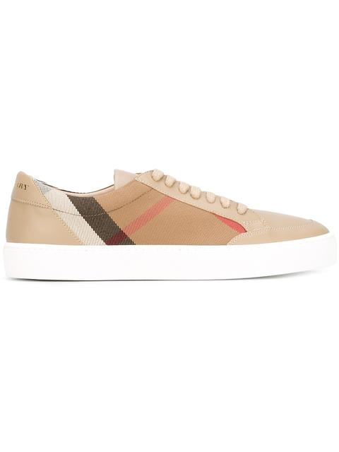 Burberry Women's Shoes Trainers Sneakers  Salmond In Beige
