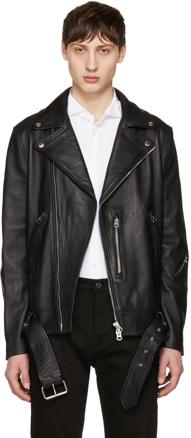 dddf1cf07 Black Nate Leather Jacket