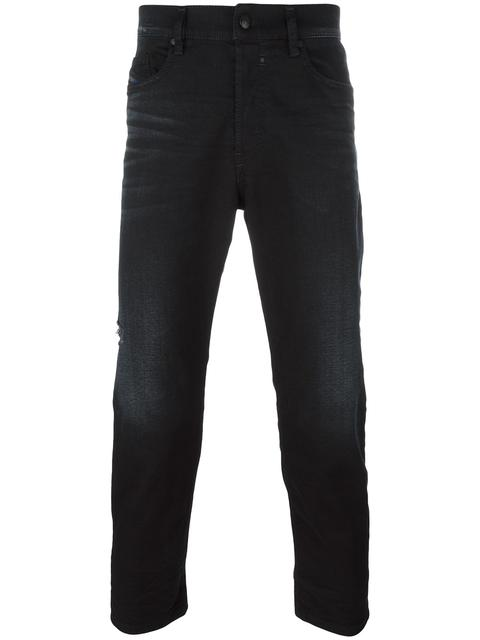 Diesel Classic Cropped Jeans - Black