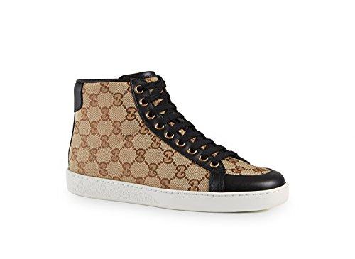 b1011e12e7fc Gucci Brooklyn Original Gg Canvas High-Top Sneaker In Beige Ebony ...