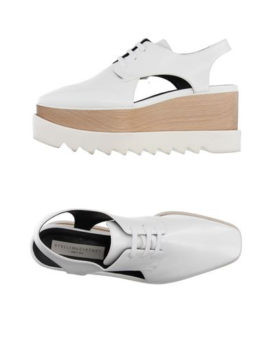 Stella Mccartney Laced Shoes In White