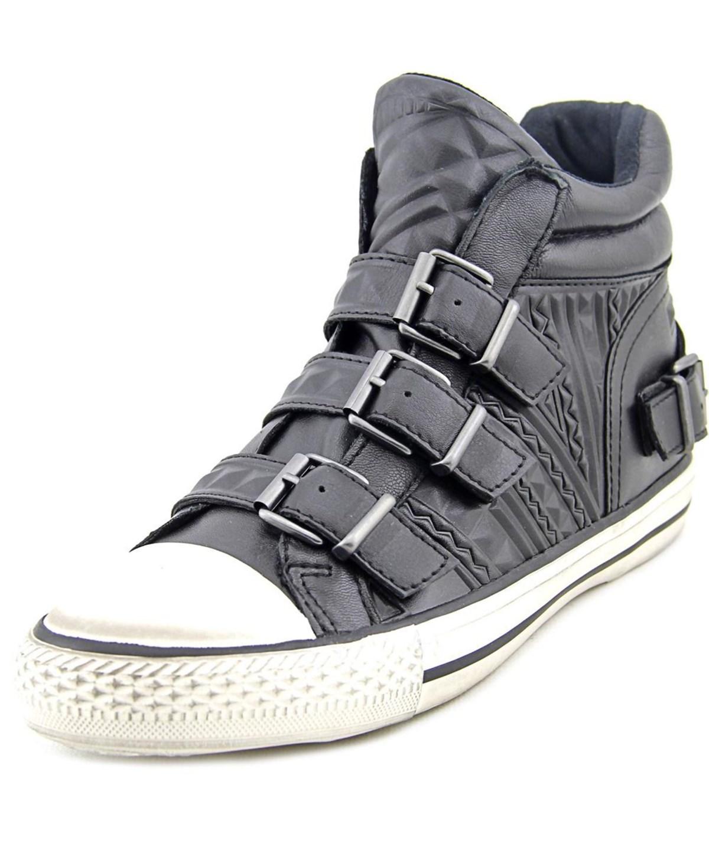 Ash Venom Women   Leather Black Fion Sneakers