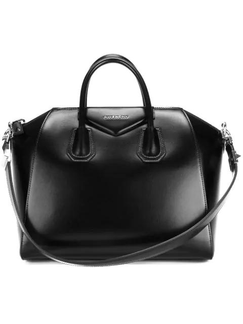 Givenchy Antigona Small Sugar Leather Top Handle Bag In 001