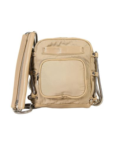 Alexander Wang Brenda Camera In Khaki Leather And Nylon In Colonial