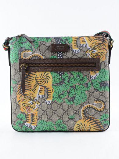 173b9e9c4bb4 Gucci Bengal Gg Supreme Print Messenger Bag In Bengal Print