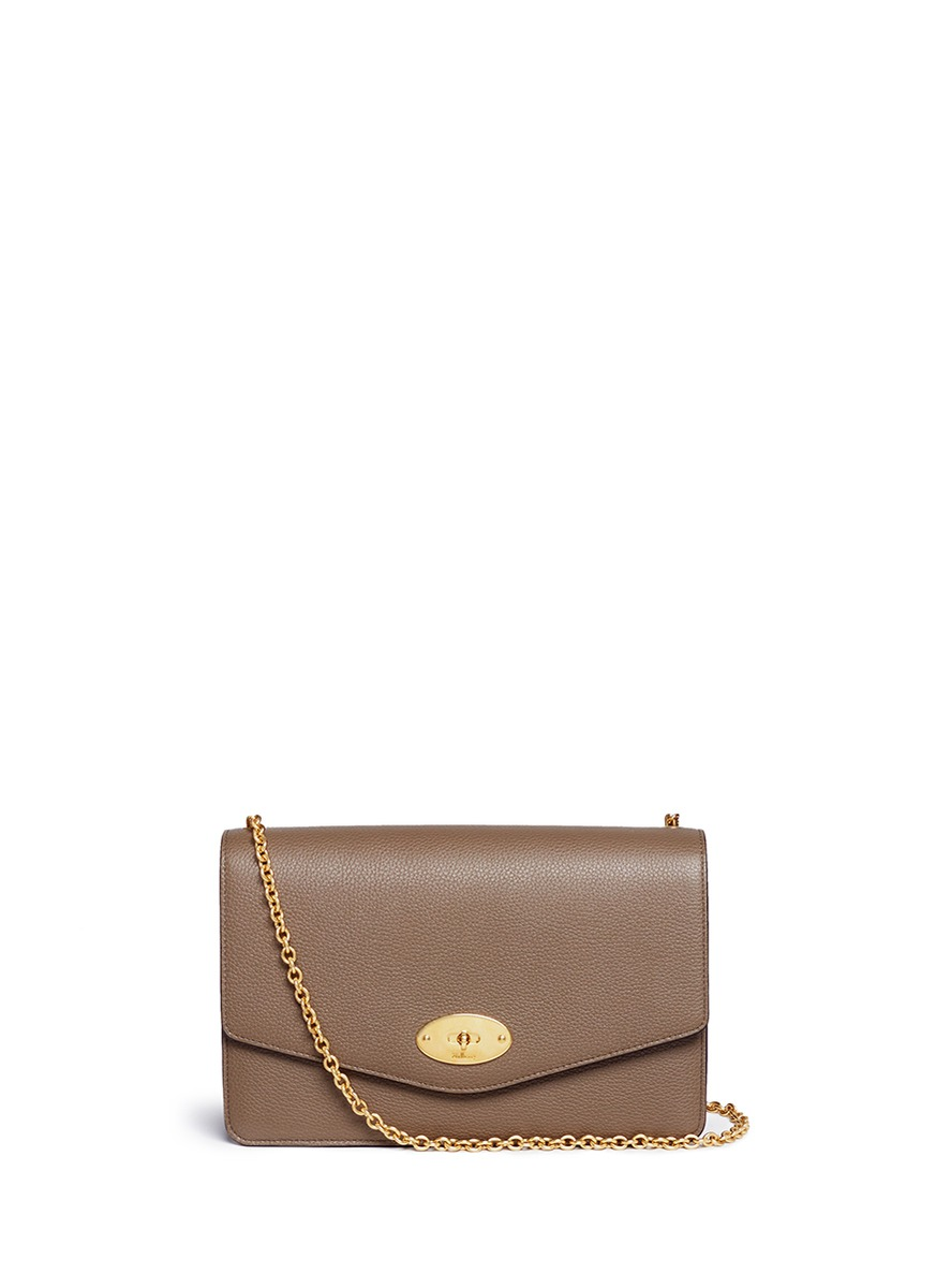 829c3f84032 Mulberry Darley Small Classic Leather Shoulder Bag In Clay | ModeSens