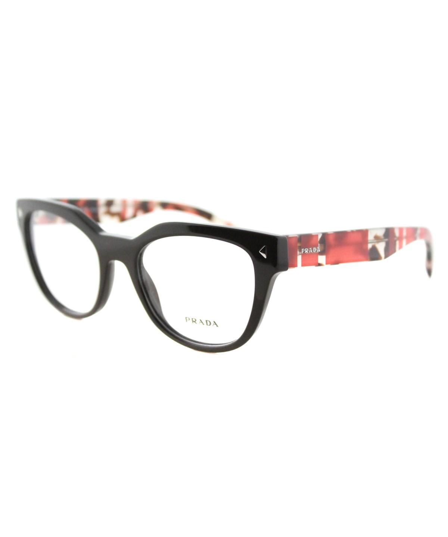 Prada Cat-eye Plastic Eyeglasses In Brown