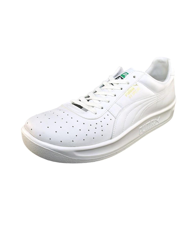 Puma Gv Special Men  Round Toe Leather White Walking Shoe