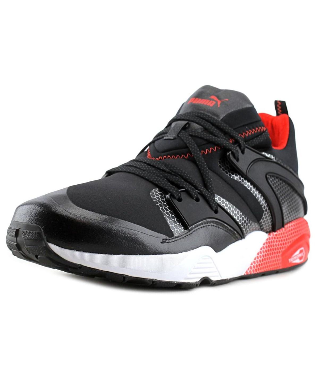 Puma Blaze Of Glory Core Men  Round Toe Synthetic Black Running Shoe