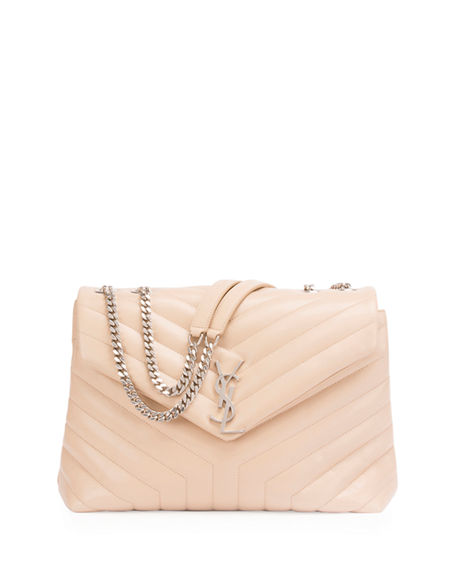 90985e67dd06 Saint Laurent Loulou Monogram Matelass Eacute  Medium Envelope Satchel Bag  ...