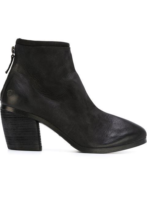 MarsÈll Distressed Chunky Heel Boots