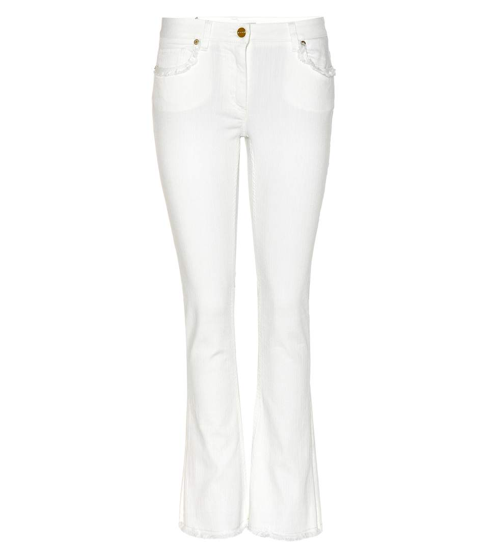 Etro Flared Jeans In White