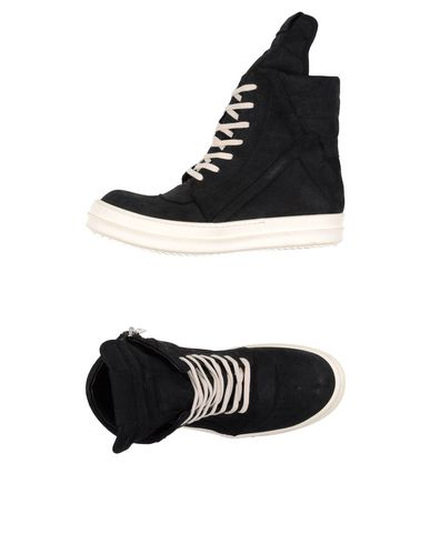 Rick Owens High-Tops In Black
