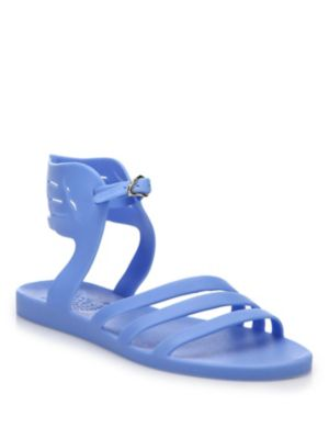 Ancient Greek Sandals Ikaria Jellie Wing Sandals In Blue