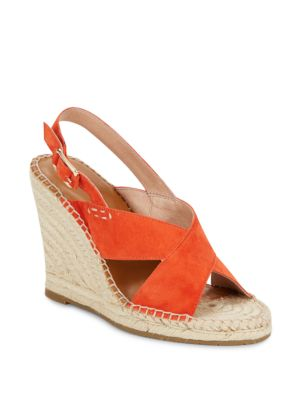 Joie Jace Open Toe Wedge Sandals In Sunset