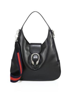 b5b2f47fc4e3 Gucci Dionysus MatelassÉ Leather Hobo Shoulder Bag In Black Leather ...
