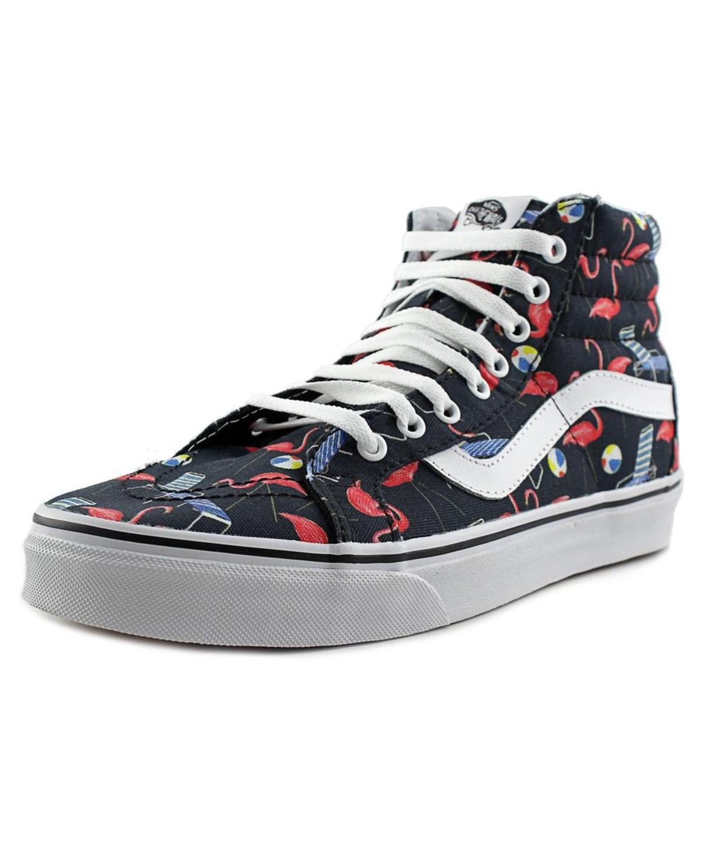 Vans Sk8-hi Reissue Men  Round Toe Canvas Multi Color Skate Shoe In Multiple Colors