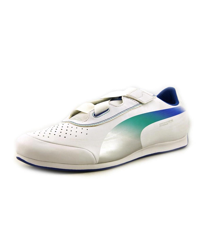 Puma Evospeed Mamgp 1.2 Lo Nm Men  Round Toe Leather  Running Shoe In White