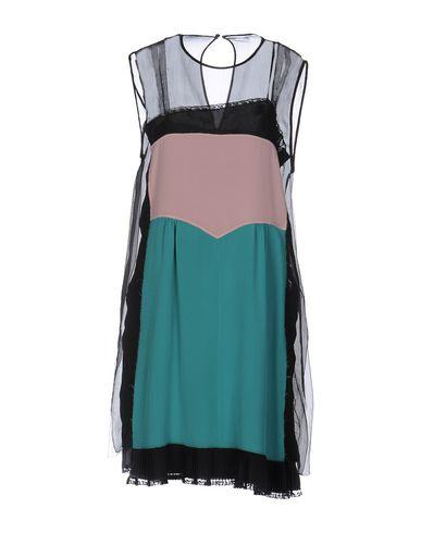 Prada Knee-length Dress In Ednero+begonia