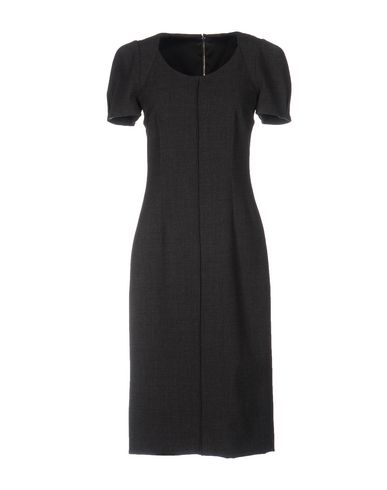 Dolce & Gabbana Knee-Length Dresses In Steel Grey
