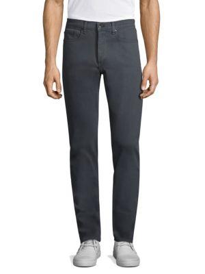 Rag & Bone 'fit 2' Five-pocket Corduroy Pants In Charcoal
