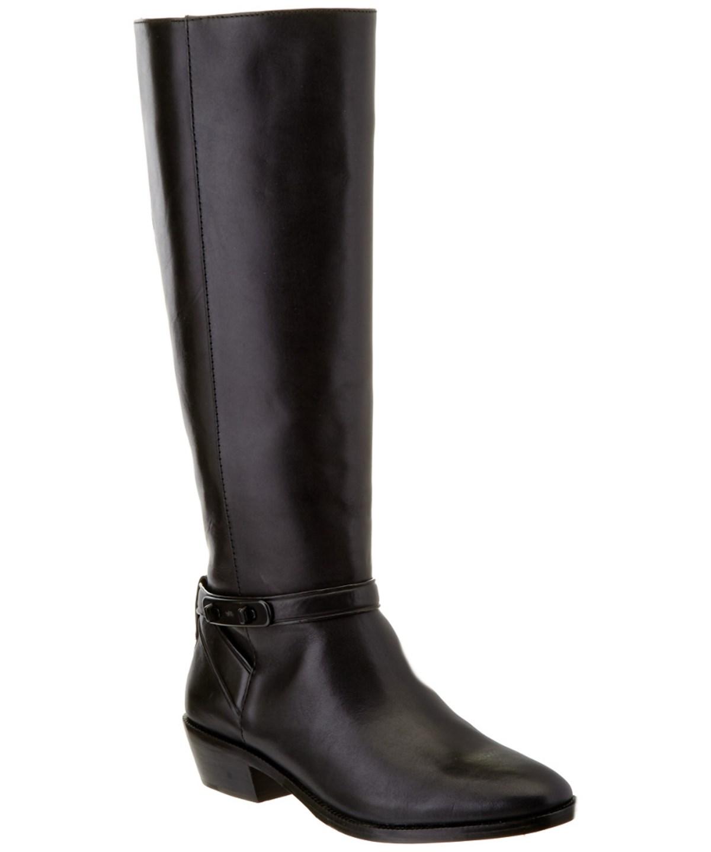 Coach 'caroline' Tall Boot (women) In Black