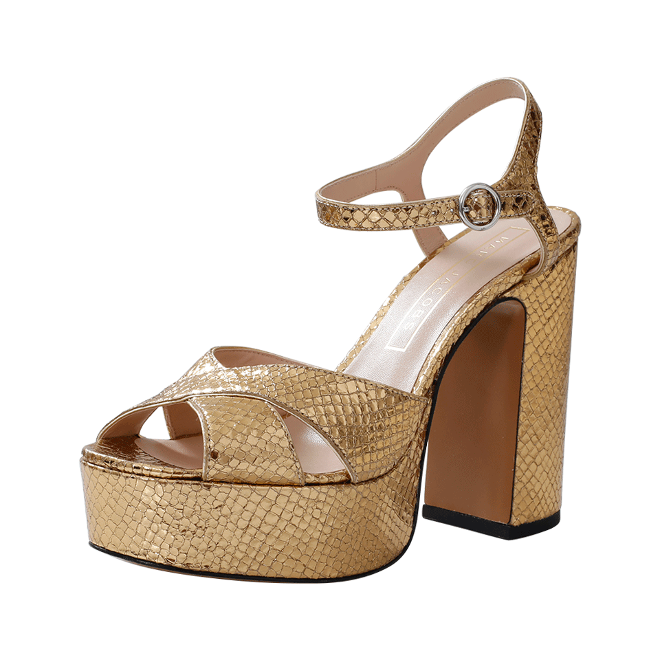 a5d8110272a03 Marc Jacobs Lust Platform Sandal (Women) In Gold