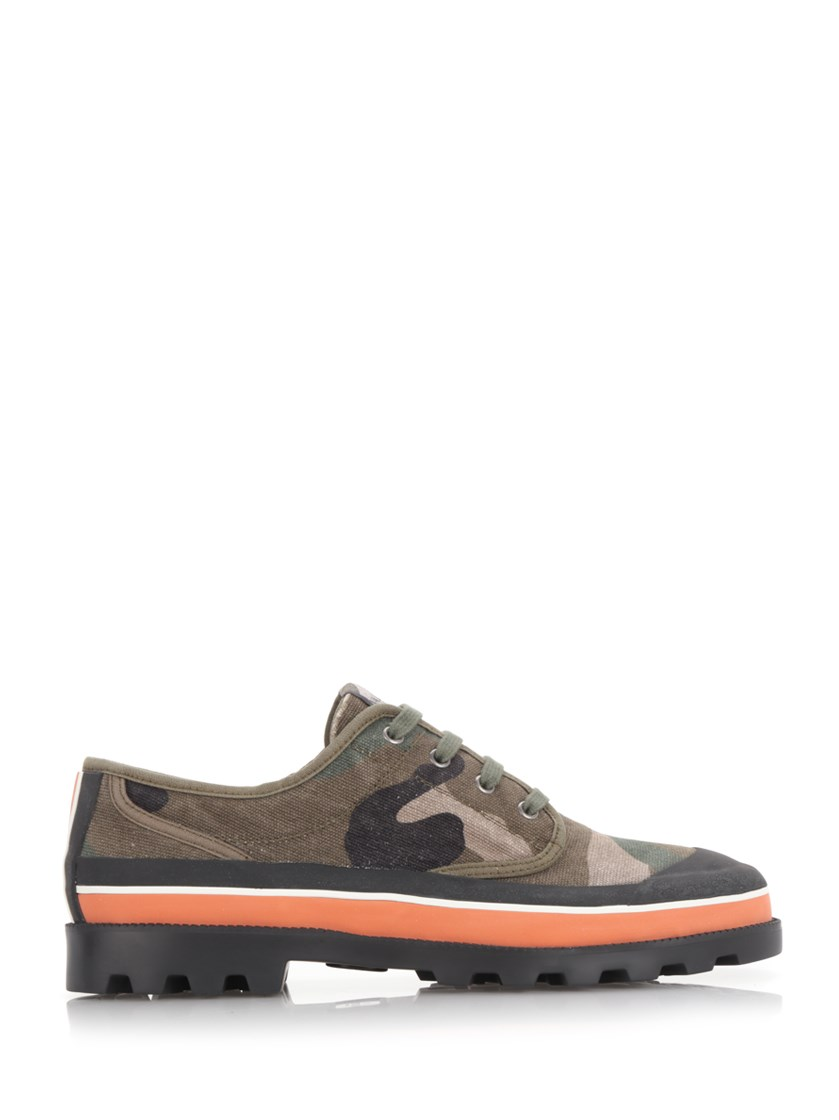 7b6ec00938947 Valentino Id Camouflage Low-Top Sneaker In Green | ModeSens