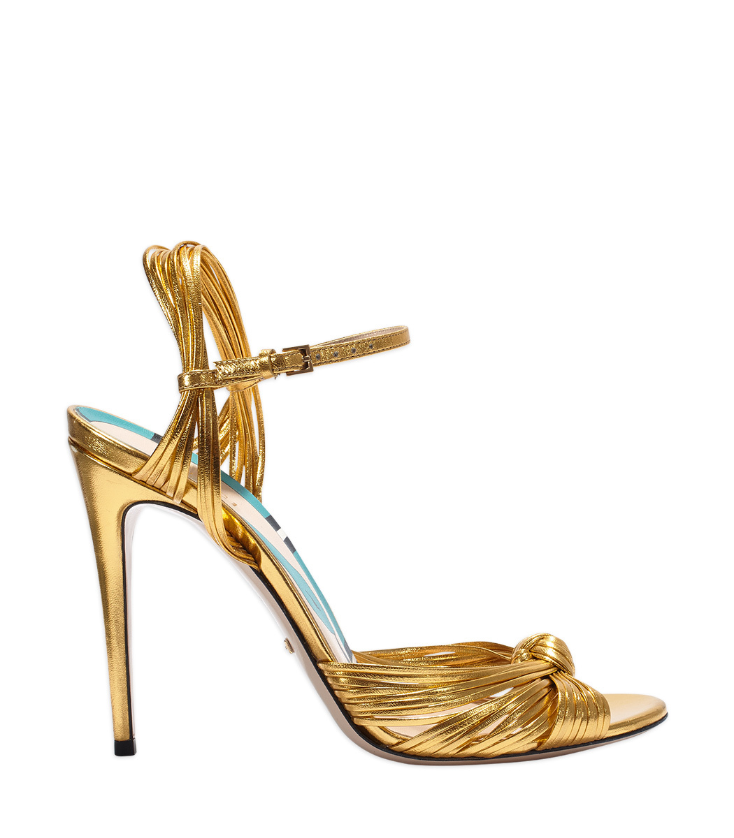 87befb6b54d28 Gucci Allie Knotted Strappy Sandal