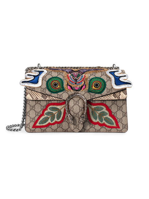 Gucci Dionysus Small Shoulder Bag In 8755