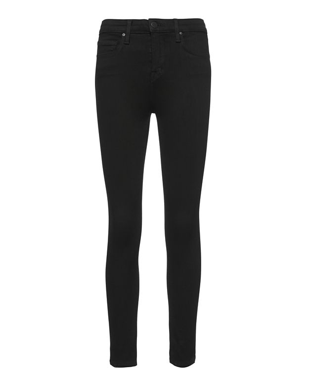 L Agence L'Agence Margot High-Rise Skinny Jeans In Black